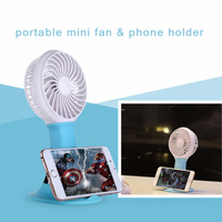 Quiet low voltage small travel hand held mini personalized cooler fan