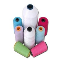 <strong>100</strong>% core spun polyester hank yarn/sewing thread 40s/2 white virgin yarn