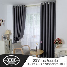 Latest design living room luxury hotel curtains