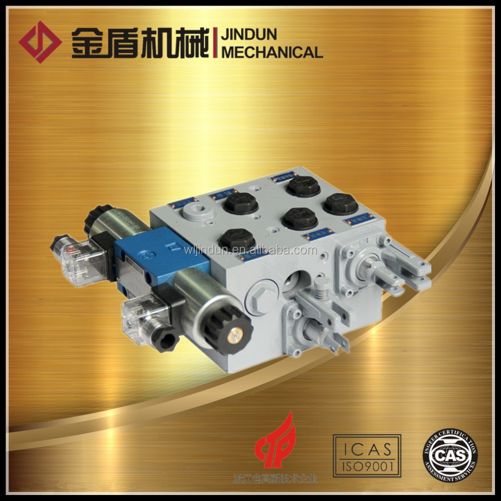 DYDF10.G electrical harvester battery operated solenoid valves agricultural Hydraulic valve