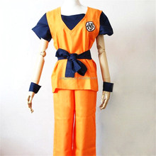 Hot Sale Jpanese anime vocaloid DragonBall Z goku Cosplay Costume Set