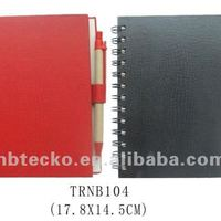 Supply PU Leather Cover Notebook For