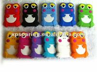 frog silicon case for Blackberry curve 8520 9300