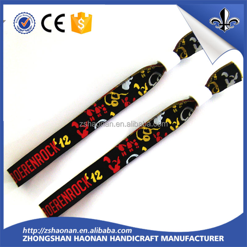 Buyers of handicraft polyester products 2017 new wristbands