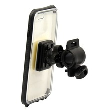 Waterproof outdoor silicon bicycle mobile phone case and holder cover for iPhone 6/6s