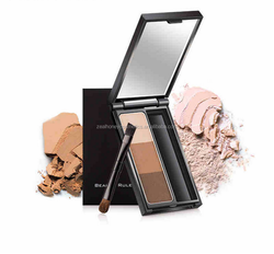 Beauty woman 3g 3 Colors OEM Warm Eyeshadow Natural Nudes Color Eyeshadow Palette