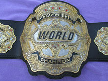 Real World Heavyweight Wrestling Boxing Championship Title Belt