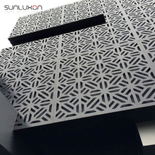 Aluminum Facade Metal Wall Cladding with CNC Laser Cut Panel