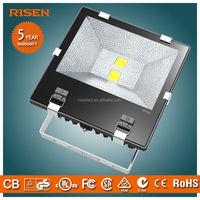 High-end bright outdoor waterproof Bridgelux meanwell power supply reflective led flood light 120w