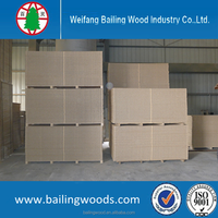 good price hollow core particle board/tubular chipboard for door use