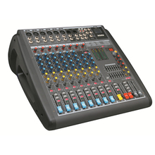 Automatic power mixer professional amplifier
