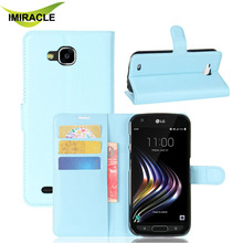 High Quality Wallet Flip PU Leather Case For LG X Venture 5.2inch Back Cover With Stand Function