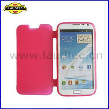 NEW Special Flip Design Whole Shell TPU Gel Case Cover for Galaxy Note 2 N7100 Laudtec