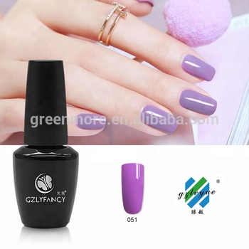 GZLYFANCY environmental wholesale 40 colors UV/LED gel soak off gel nail polish nail uv gel