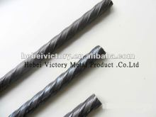 bridge beam used building materials spiral ribbed 5mm prestressed concrete steel wire
