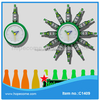 (C1409) wall clock different shape for promotional gifts