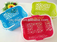 cheap plastic small baskets with handles