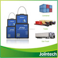 Container tracker with built in RFID and electronic lock