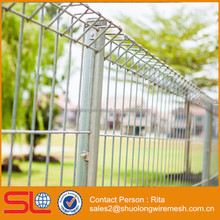 Galvanised BRC Welded Mesh Fence