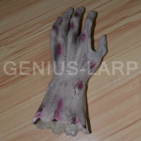 New product halloween rubber hand