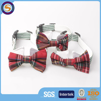 High Quality Polyester Funky Bow Tie Pet Dog Collar