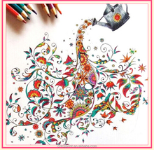 adult children gift offset printing coloring book