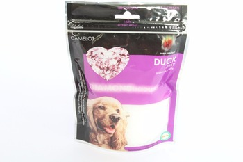 Round Bottom Stand Up Zipper Custom Dog Treats Plastic Packaging Bag