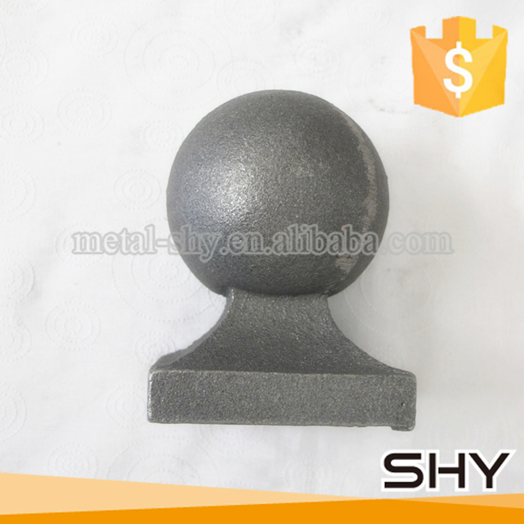 accept custom order cast iron ornaments metal ball