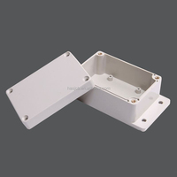 Wall mount plastic control box for electrical with flange 160x160x90mm