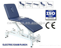 three section electric adjustable exam tables surgery tables