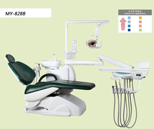 CE approval dental unit with LED lamp light cure and scaler TOP