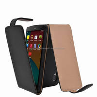 Mobile Phone Leather Cases for Google LG Nexus 5