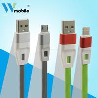 1m/ 3 ft cell phone usb charging cable for v8 micro data cable work with HTC one s4 s3 s5 galaxy note3 2 5 lenovo usb