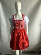 walson Sexy Oktoberfest Beer Maid Wench German Bavarian Heidi Fancy Dress Costume