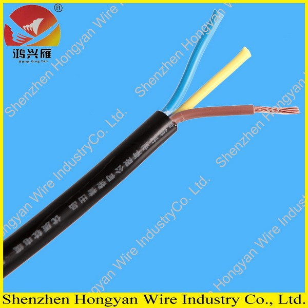 3 core 0.5mm flexible pvc cable