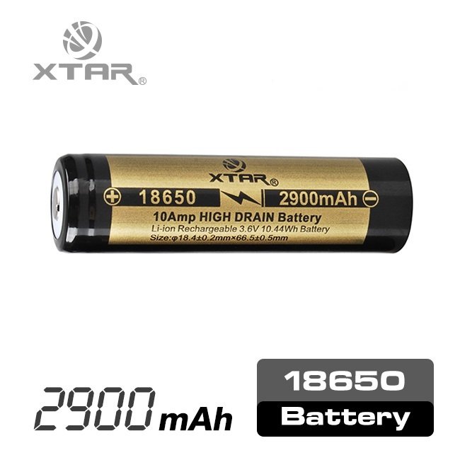 Factory directly selling standard NCR 18650 2900mAh thin li ion nmc battery