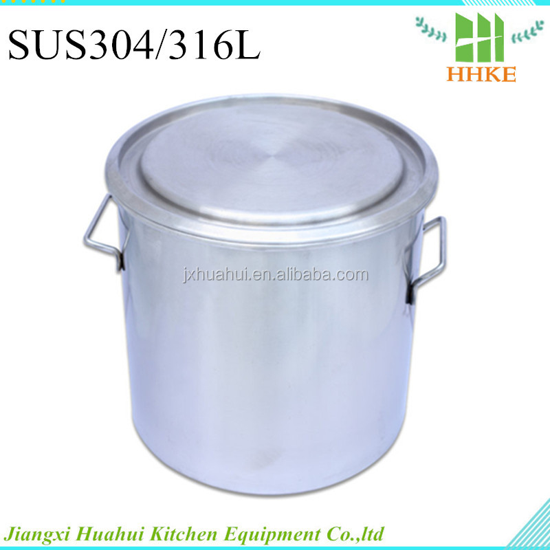 2015 Newest stainless steel water pail metal used empty drum barrel for sale
