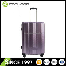 China supplier hot sales top brands PET travel trolley luggage bags