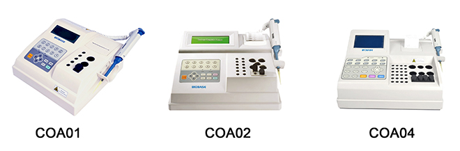 BIOBASE COA Series Medical Cinical Instrument Blood Semi Auto Coagulation Analyzer with Best Quality