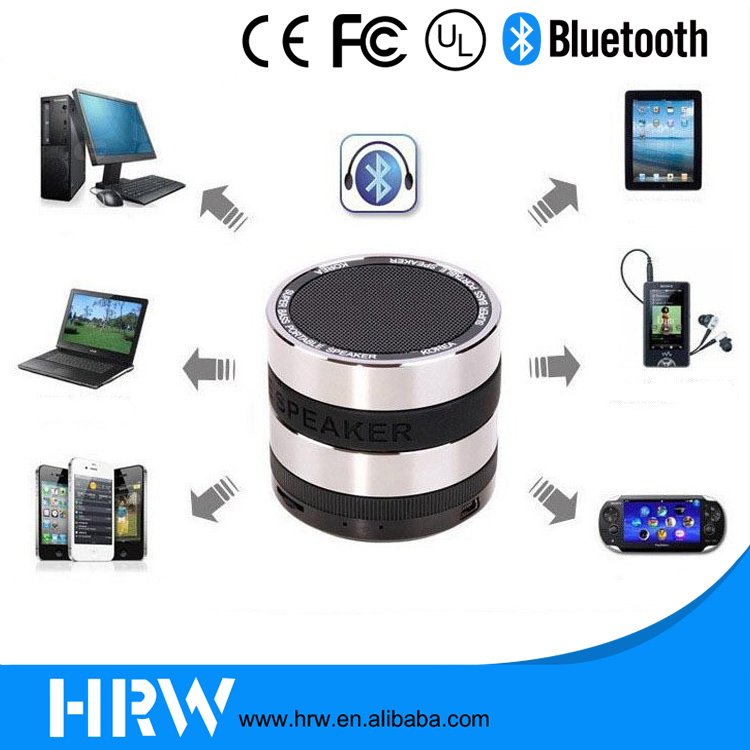 Outdoor Protable Use MP3 Player Mobile Phone Computer Mini Bluetooth Speaker