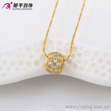 Pretty ring 24K gold color jewelry pendant