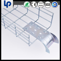 china suppliers low price good electrical wire mesh cable tray and cable accessories (UL CE ROHS TUV SGS cable certificated)