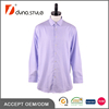 Pure cotton Purple color yarn dyed small check shirt for men