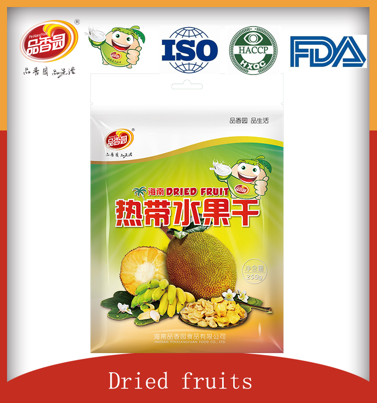 hot sale snack freeze dried fruit freeze dried durian and banana
