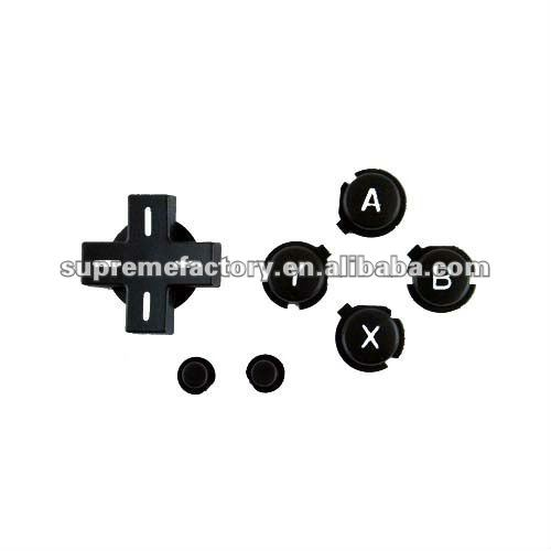 For NDSL Repair Parts Button Set Black