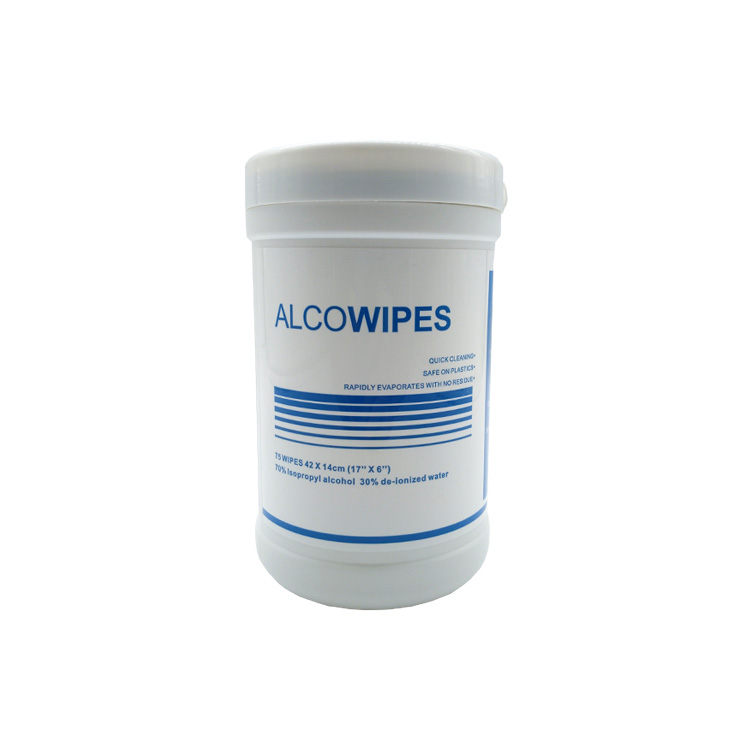 99 Isopropyl Alcohol Non Woven Wet Wipes In Cans