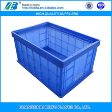 Foldable Plastic collapsible Crates trays box for Vegetables and Food Distribution