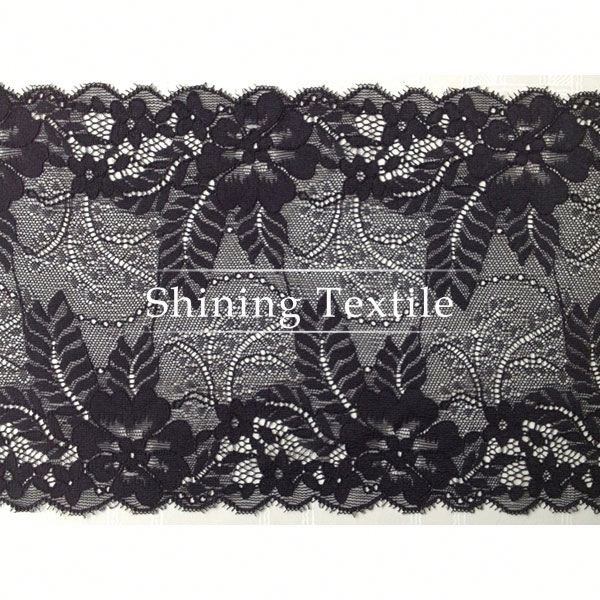 In Stock Nylon Spandex Stretch Lace Elastic For Lingerie