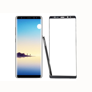 9H Anti-broken Edge Glue Full cover 5D Tempered Glass Screen Protector for Samsung Galaxy Note 8