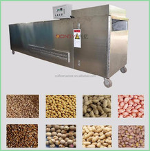 industrial food drum dryer/roaster machine for nuts, grain